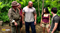 A still #3 from Journey 2: The Mysterious Island (2012) with Dwayne Johnson, Luis Guzmán, Michael Caine, Josh Hutcherson and Vanessa Hudgens