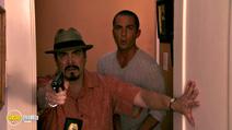 A still #9 from Dexter: Series 3 (2008) with Desmond Harrington and David Zayas