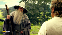 A still #19 from The Hobbit: An Unexpected Journey with Ian McKellen