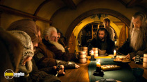 A still #18 from The Hobbit: An Unexpected Journey with Ian McKellen, Martin Freeman and Richard Armitage