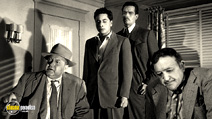 A still #14 from Touch of Evil with Orson Welles, Charlton Heston and Akim Tamiroff