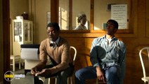 A still #16 from Get on Up with Nelsan Ellis and Chadwick Boseman
