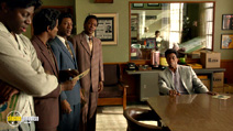 A still #14 from Get on Up with Nelsan Ellis and Chadwick Boseman
