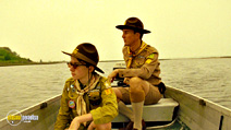 A still #18 from Moonrise Kingdom with Edward Norton and Jared Gilman