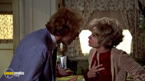 A still #23 from Family Plot with Bruce Dern and Barbara Harris