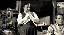 A still #28 from The Hustler with Paul Newman and Jackie Gleason