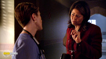 A still #40 from Nurse Jackie: Series 1 with Edie Falco and Anna Deavere Smith