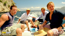 A still #29 from Mad Dogs: Series 1 with John Simm, Max Beesley and Mark Warren