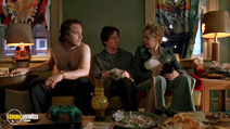 A still #17 from Garden State with Peter Sarsgaard and Zach Braff