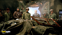 A still #41 from Kelly's Heroes with Clint Eastwood, Donald Sutherland, Telly Savalas, Karl-Otto Alberty and Shepherd Sanders
