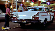 A still #17 from American Graffiti with Charles Martin Smith and Richard Dreyfuss