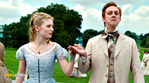 A still #32 from Alice in Wonderland with Leo Bill and Mia Wasikowska