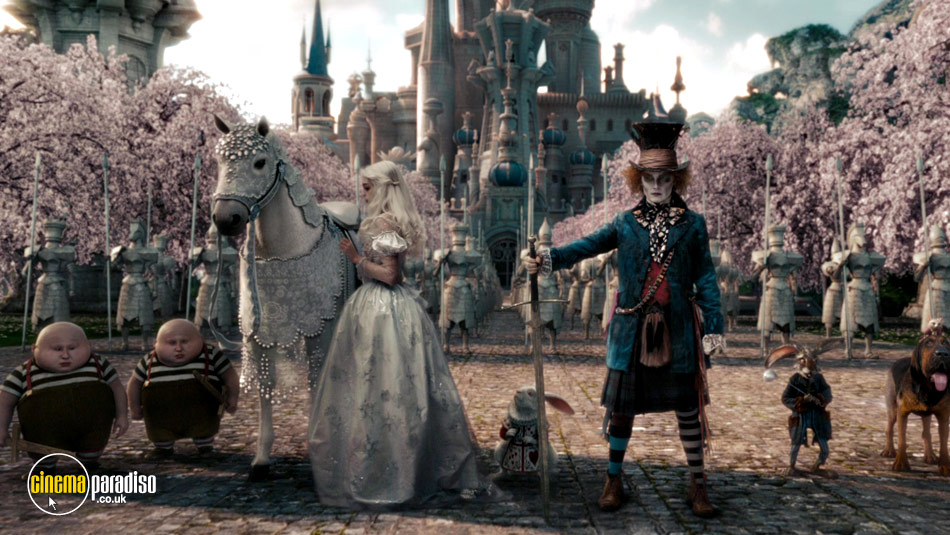 Alice in Wonderland online DVD rental