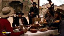 A still #21 from Tombstone with Powers Boothe and Michael Biehn