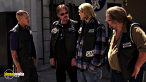 A still #39 from Sons of Anarchy: Series 1 with Tommy Flanagan, Charlie Hunnam, Mark Boone Junior and Theo Rossi