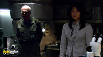 A still #34 from Battlestar Galactica: Series 5 with Grace Park and Michael Hogan