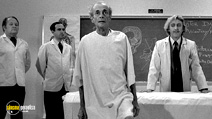 A still #38 from Young Frankenstein with Gene Wilder and Liam Dunn