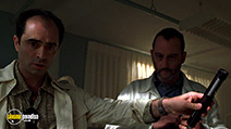 A still #35 from Godzilla with Jean Reno and Philippe Bergeron