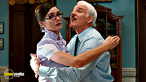 A still #29 from The Pink Panther 2 with Emily Mortimer and Steve Martin
