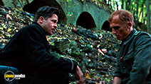 A still #23 from Inglourious Basterds with Brad Pitt and Richard Sammel