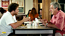 A still #17 from Knocked Up with Harold Ramis and Seth Rogen