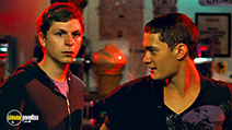 A still #24 from Nick and Norah's Infinite Playlist with Michael Cera and Rafi Gavron