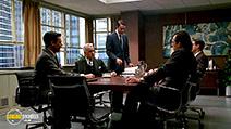 A still #52 from Mad Men: Series 1 with Vincent Kartheiser, John Slattery and Jon Hamm