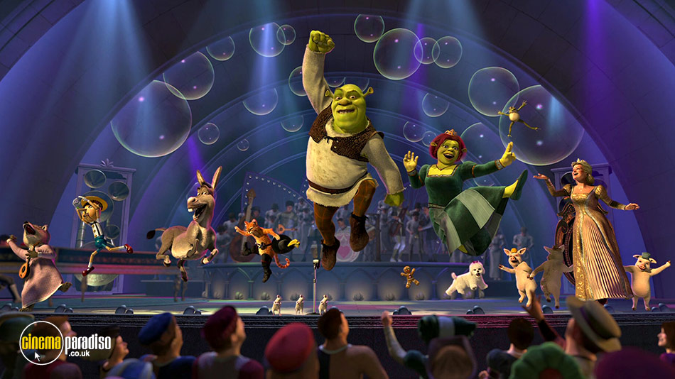 Shrek 2 online DVD rental