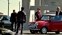 A still #19 from The Italian Job with Jason Statham, Mark Wahlberg and Charlize Theron