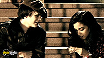 A still #23 from The Spirit with Johnny Simmons and Seychelle Gabriel