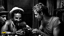 A still #17 from A Streetcar Named Desire with Marlon Brando