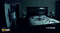 A still #22 from Paranormal Activity with Katie Featherston