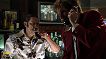 A still #29 from Anchorman: The Legend of Ron Burgundy with Danny Trejo and Will Ferrell