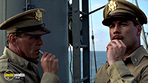 A still #36 from The Thin Red Line with John Travolta and Nick Nolte