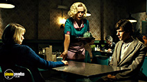 A still #25 from The Double with Cathy Moriarty and Jesse Eisenberg