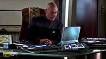 A still #6 from Star Trek 9: Insurrection (1998) with Patrick Stewart
