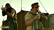 A still #20 from The Expendables 3 with Sylvester Stallone