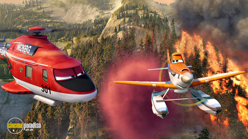 Planes: Fire and Rescue online DVD rental