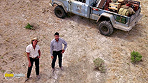 A still #31 from Tremors with Kevin Bacon and Fred Ward