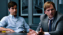 A still #6 from The Big Short with Steve Carell and Hamish Linklater