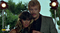 A still #2 from The Fanatic (1982) with Caroline Munro and Glenn Jacobson
