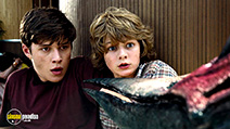 A still #54 from Jurassic World with Nick Robinson and Ty Simpkins