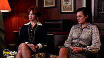 A still #6 from Mad Men: Series 7: Part 2 with Elisabeth Moss and Christina Hendricks