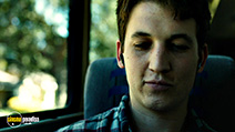 A still #20 from Whiplash with Miles Teller