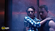 A still #33 from Jupiter Ascending with Mila Kunis and Channing Tatum