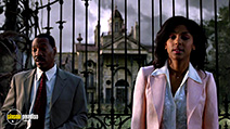 A still #37 from The Haunted Mansion with Marsha Thomason and Eddie Murphy