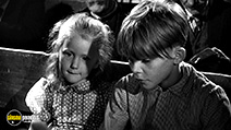 A still #2 from Forbidden Games (1952) with Brigitte Fossey and Georges Poujouly