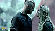 A still #3 from Vikings: Series 3 (2015) with Katheryn Winnick and Gustaf Skarsgård