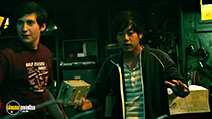 A still #22 from Project Almanac with Sam Lerner and Allen Evangelista