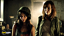 A still #5 from Extraterrestrial (2014) with Emily Perkins and Melanie Papalia